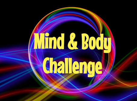 MIND & BODY JUNE CHALLENGE WEEK 1