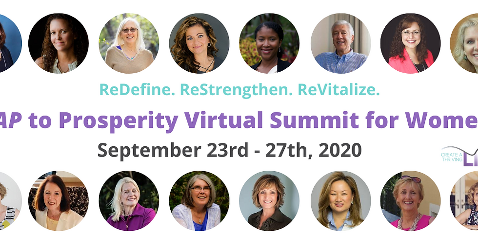 Leap to Prosperity Virtual Summit for Women