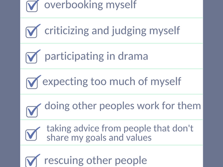Here are some things to add to your NOT TO DO LIST.