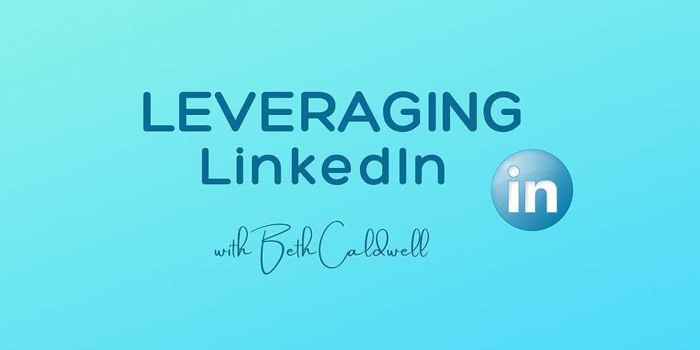 Leveraging LinkedIn Masterclass