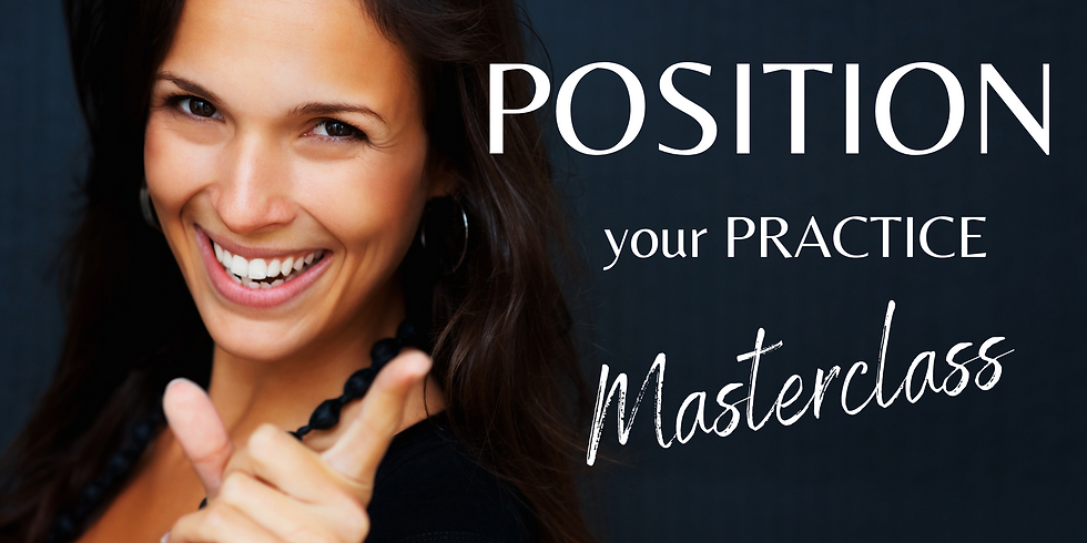 Position Your Practice: A Masterclass for Female Financial Advisors