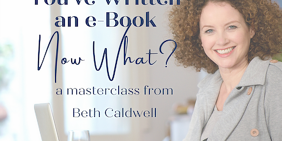 You Wrote an eBook, NOW WHAT?