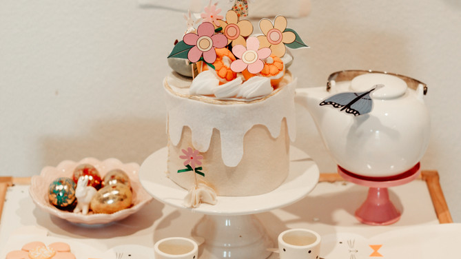 How To Throw The Cutest Easter Tea Party For Kids
