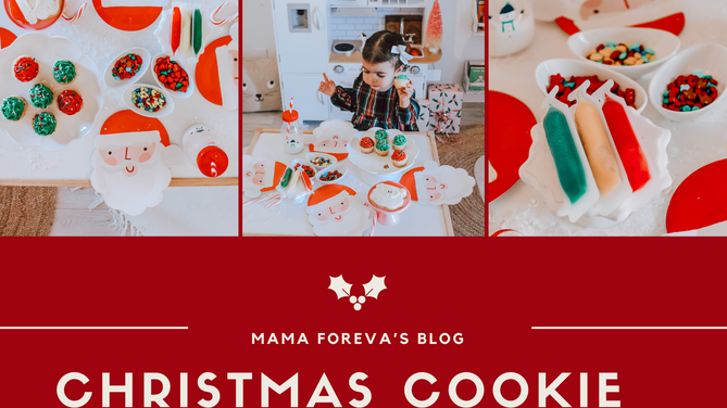 How to Throw The Cutest Christmas Cookie Decorating Party for Kids