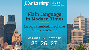 Susan presents at Clarity, 2018
