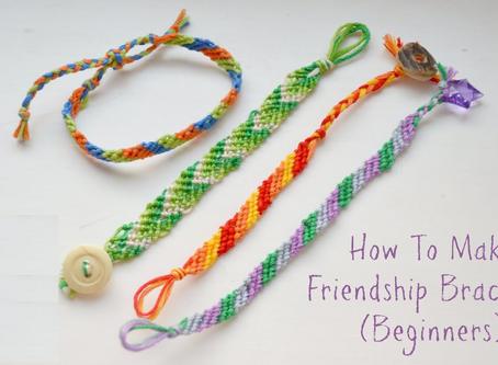 Join Us to Make Friendship Bracelets