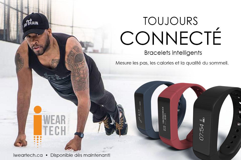 Bracelets intelligents pour garder sa motivation !
