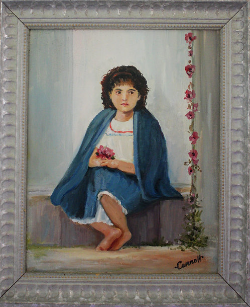 Girl in Shawl
