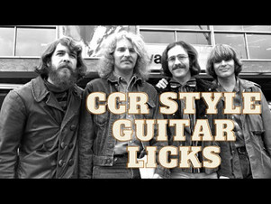 Episode 9: 5 Guitar Licks In The Style Of CCR (Creedence Clearwater Revival)