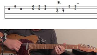 Episode 8: Beginner/Intermediate Country Swing Guitar Lick Using Triplets/Double Stops in C