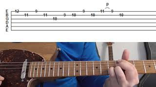 Episode 7: Blues Guitar Turnaround Using Triplets, Double Stops & Pivot Point