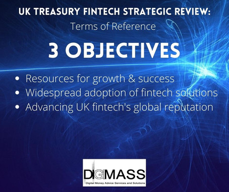 UK Treasury Fintech Strategic Review – launched to boost UK Fintech Sector