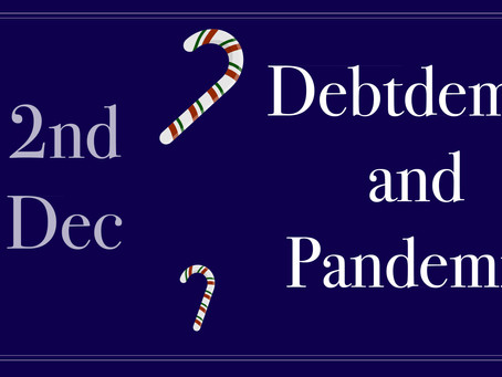 DEBTDEMIC & PANDEMIC – when it comes to the consequences of both we need to accept what is endemic a