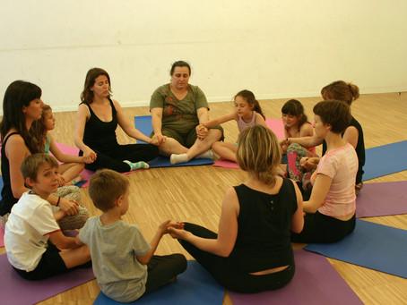 Medytacja i dzieci.