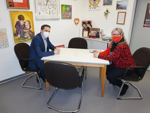 Besuch im Menschenrechtszentrum in Cottbus