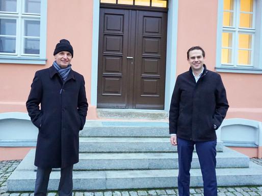Mein Austausch mit dem Bürgermeister von Drebkau