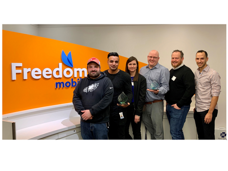 Benchmark and Freedom Mobile: I4PL Winners x 2