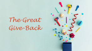 Introducing…. The Great Give-Back