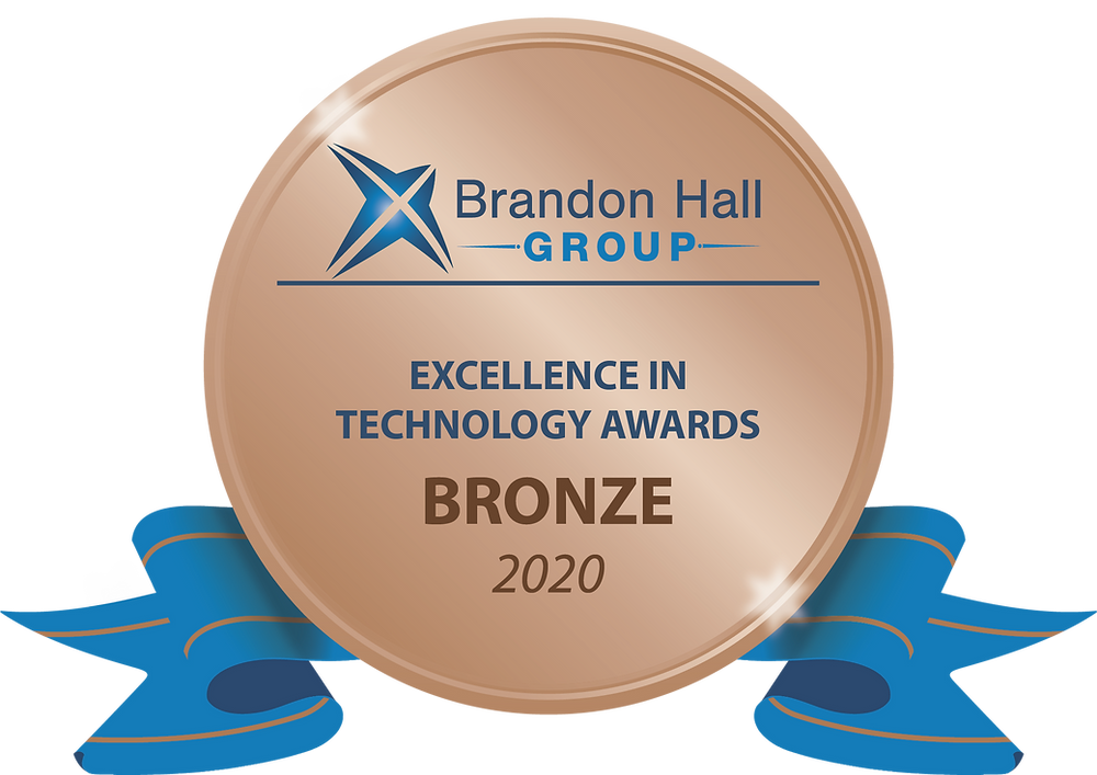 Excellence in Technology Awards Bronze 2020