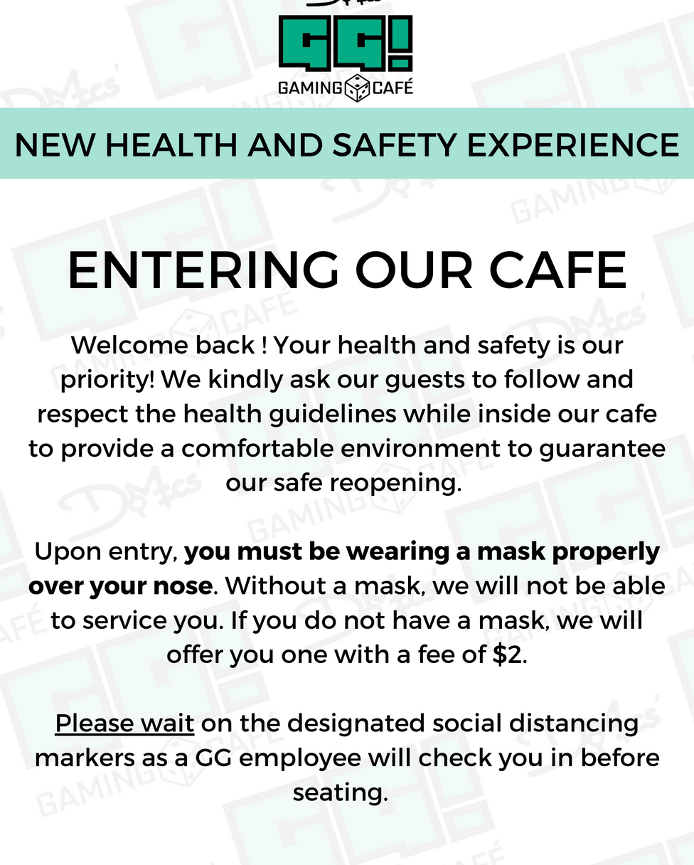 1.Entering the Cafe