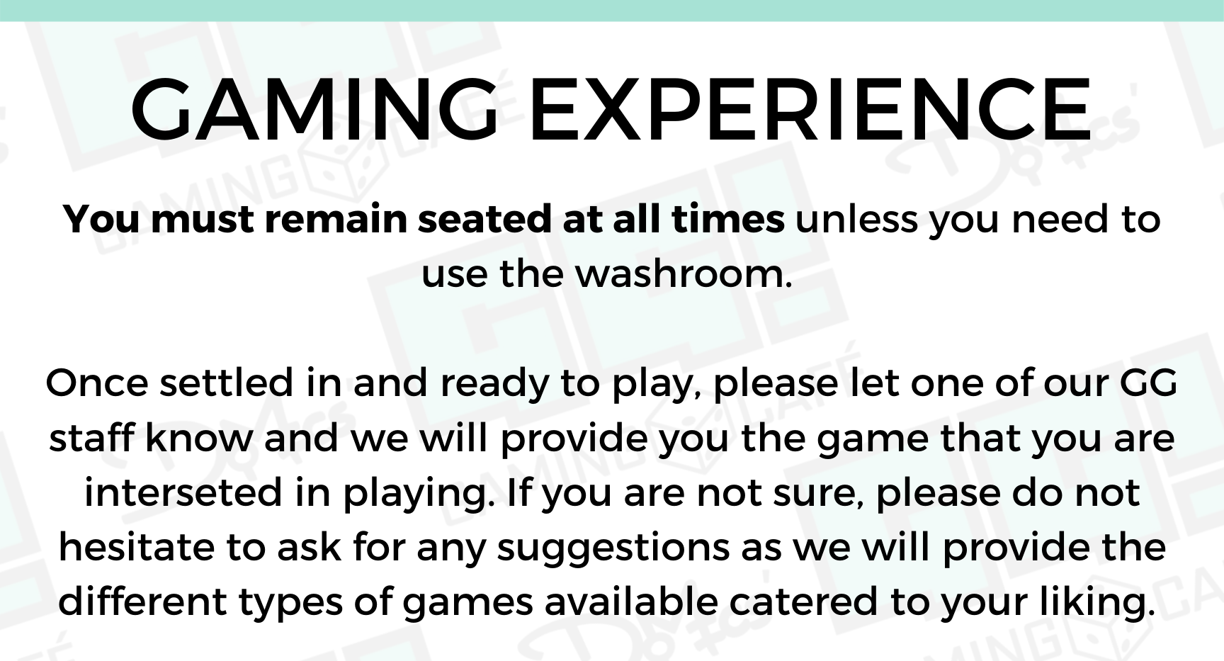 2.Gaming Experience