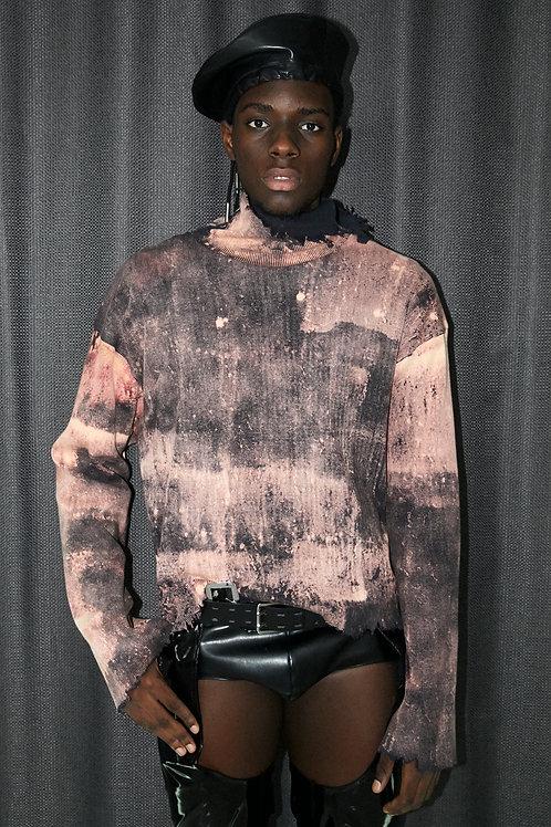 Bleach Dye Sweater