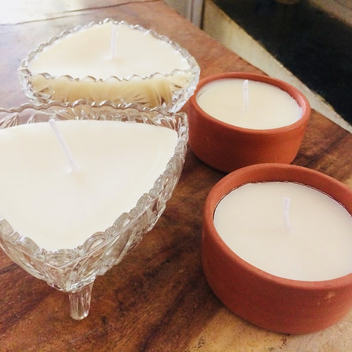 Aromatherapeutic Upcycle Candles
