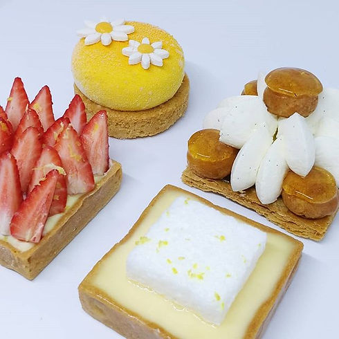 Petit assortiment de desserts que vous r