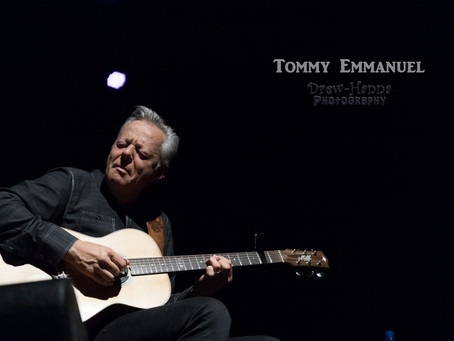 Tommy Emmanuel LIVE at The Greenwich Odeum, RI