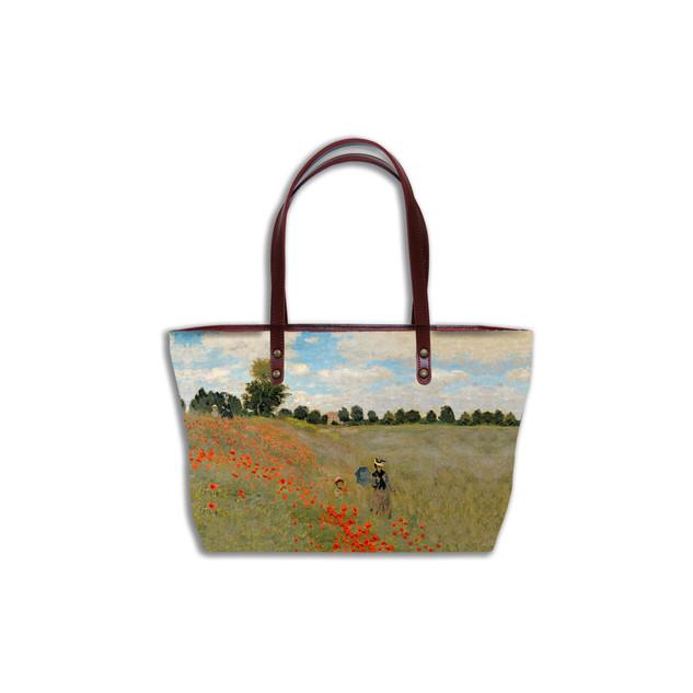 """Sac shopping """"Les Coquelicots"""" Claude Monet -  Référence 8975M2"""