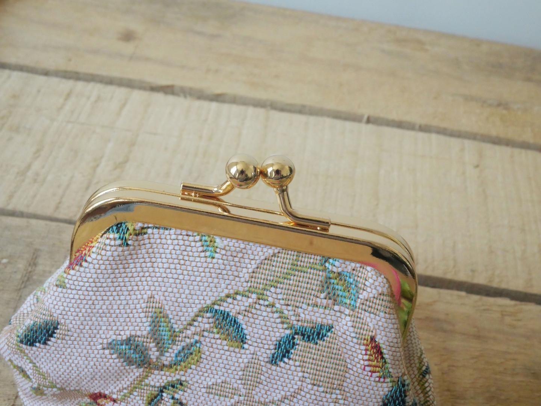 """Porte-monnaie rétro de la collection """"Fleurs de Printemps"""" (ref 402.85) Royal Tapisserie / coin purse tapestry"""