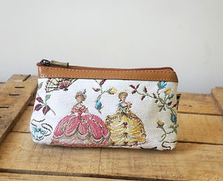 Royal Tapisserie handbag marie-antoinette versailles tapestry made in france (available in cushion, pencil case, coin purse)