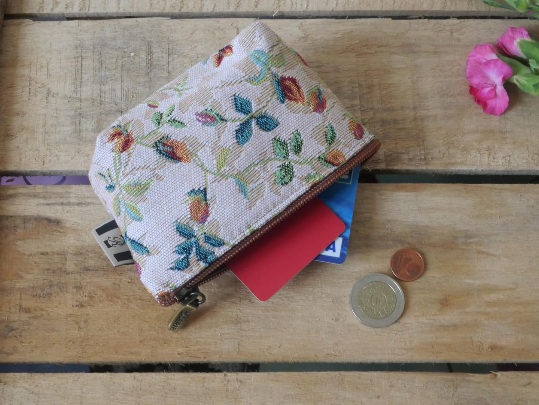 """Porte-monnaie de la collection """"Printemps"""" (ref 419.85) Royal Tapisserie / coin purse tapestry"""