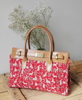 """Sac à main de la collection """"Mille Fleurs"""" (ref 8967.64) Royal Tapisserie / Handbag tapestry"""