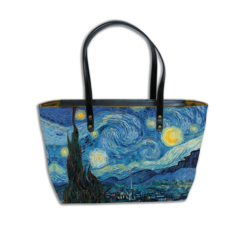 "Sac shopping ""Nuit Etoilée"" Van Gogh - Référence 8975V6"