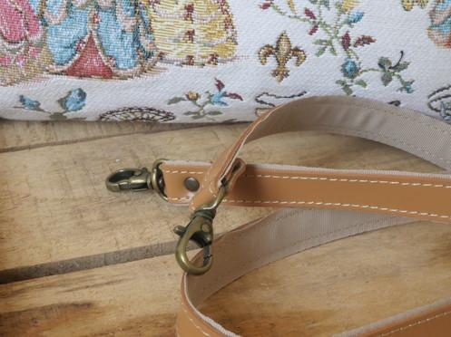 """Sac à main de la collection """"Bal paré"""" (ref 8967.78) Royal Tapisserie / Handbag tapestry"""