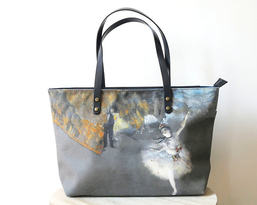 8975D3 sac shopping La Danseuse de Degas