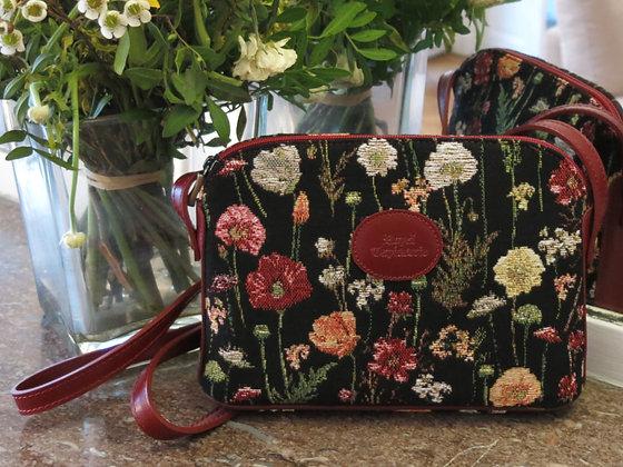 sac royal tapisserie sac fabriqué en france fleurs de lys tapisserie royale made in france cadeau femme