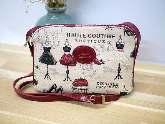 sac en tapisserie royale tapisserie sac porté bandoulière royal tapisserie maison de couture sac fabriqué en france
