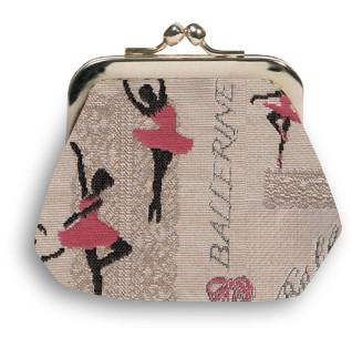 """Porte-monnaie rétro de la collection """"Ballerines"""" - Référence 402.57 Royal Tapisserie"""