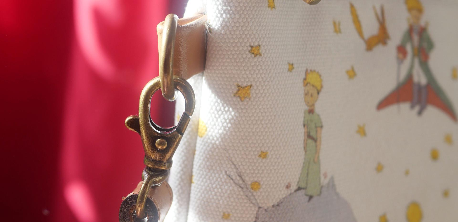 Sac bandoulière Le Petit Prince (ref 8972LPP)