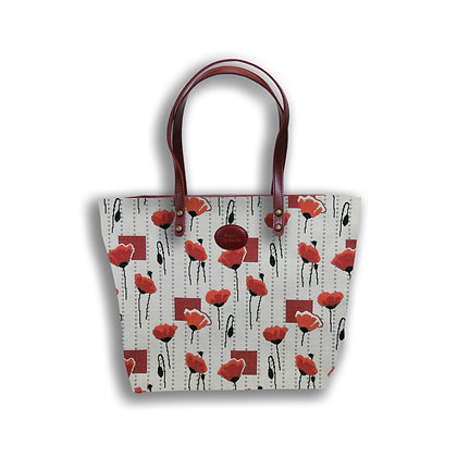 8976.58 Sac shopping Coquelicots