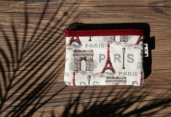 431.50 Pochette plate Rouge Paris