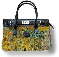tapestry handbag klimt bag gustav klimt the kiss royal tapisserie cushion tapestry made in france woven