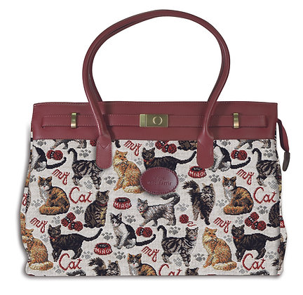 8963.62 Maxi bag Chats multi