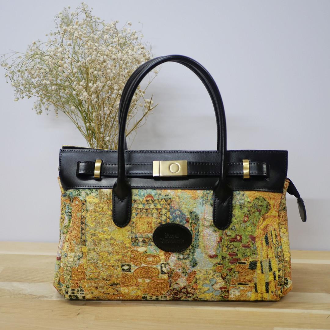 """Sac Royal Tapisserie de la collection """"Le Baiser de Klimt"""" (référence 8967.72) Royal Tapisserie / Handbag tapestry"""