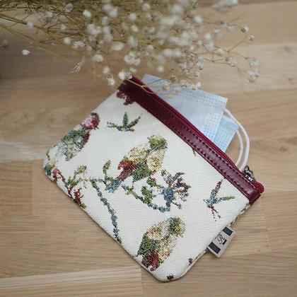 royal tapestry handbag made in france french gift paris bird