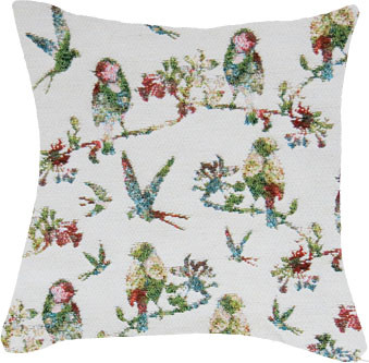"""Coussin """"L'Oiseau sur la branche """" - Royal Tapisserie cushion tapestry"""