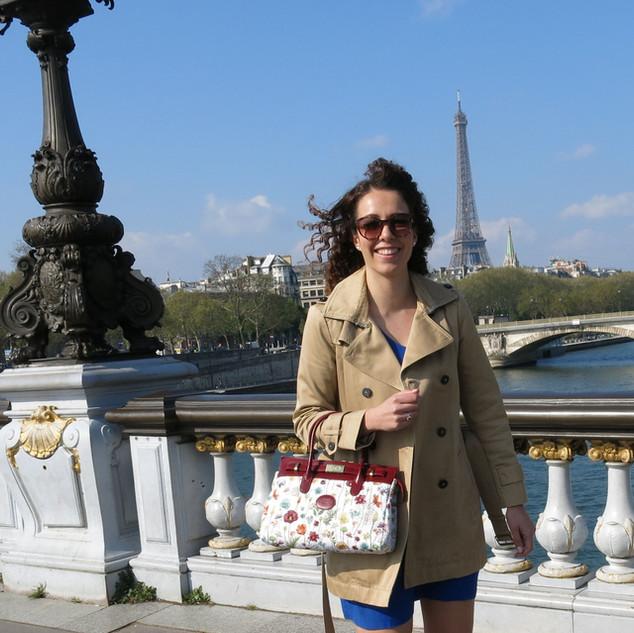 "Sac à main dessin ""Fleurs des Champs"" (ref 8967.1) Royal Tapisserie / Handbag tapestry"