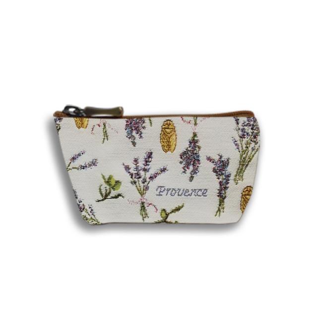 """Porte-monnaie zippé de la collection """"Provence""""  Référence 419.86 Royal Tapisserie"""